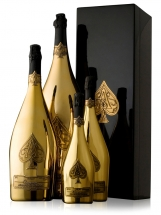 Armand Group of Large Small Gold Bottles_1